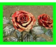 Изготавливаем кованые цветы,кованые розы